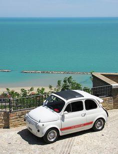 FIAT 500 Cupra Marittima #TuscanyAgriturismoGiratola