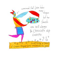 Cookie Love Print
