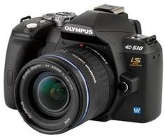 Olympus E510 + 14-42mm Lens; Rent it today with CameraLends