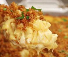 MEGA Million Dollar Macaroni & Cheese! My Incredible Recipes Macaroni Cheese Recipes, Pasta Recipes, Dinner Recipes, Cooking Recipes, Cooking Chef, Dinner Ideas, Italian Cooking, Oven Recipes, Vegetarian Cooking