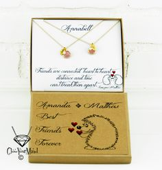 Wedding Gift For Distant Friend : ... gift gift for best friend best friends friendship friends distance
