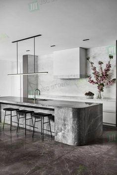 Luxury Kitchen Design, Kitchen Room Design, Contemporary Kitchen Design, Interior Design Kitchen, Kitchen Ideas, Kitchen Decor, Diy Kitchen, Kitchen Cabinets, Interior Modern