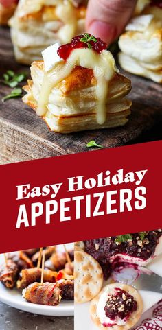 14 Lazy Holiday Recipes That'll Make People Think You're A Chef - Food - Appetizers Easy Christmas Appetizers, Appetizers For Party, Appetizer Recipes, Thanksgiving Appetizers, Christmas Parties, Christmas Holiday, Appetizer Dinner, Simple Appetizers, Christmas Apps