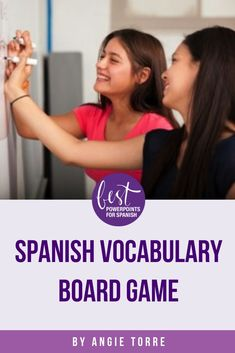 Students learn the vocabulary in context while playing a hilarious game. My students love this game. Good comprehensible input for Spanish, French or any world language. Vocabulary In Context, Spanish Vocabulary, Teaching Spanish, Spanish Games, Spanish Activities, Spanish Lessons, Classroom Activities, Group Activities, Comprehensible Input