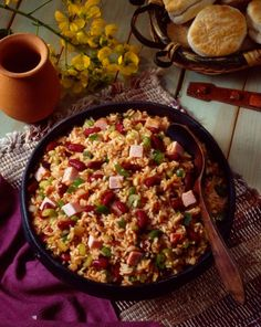 Spicy Jambalaya to Chase the Blues Away