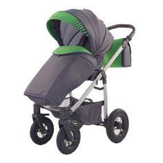 Kočárek Jumper Light plastová korbička, zelená Baby Strollers, Jumper, Children, Green, Fabric, Baby Prams, Young Children, Tejido, Sweater