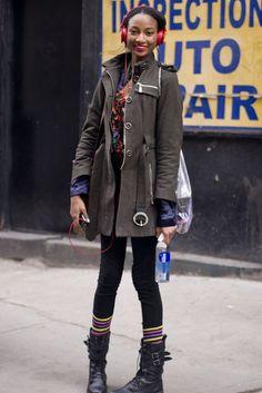 Street Style at New York Fashion Week Fall 2013 Photo 10