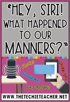 Have voice controlled virtual assistants ruined our manners? When our children and students overhear our voice commands, does that transfer over to human interaction? I'm already seeing this commanding tone in social media messages and emails I receive FROM ADULTS. I'm beginning to rethink how I will approach speaking to Siri and Alexa.