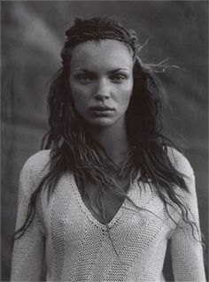 Vogue IT - Deserto - Mélanie Thierry, Esther Canadas by Peter Lindbergh