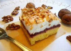 Najlon torta sa orasima i mljevenim keksom Sweet Recipes, Tiramisu, Cupcake Cakes, Cupcakes, Cheesecake, Cooking Recipes, Sweets, Cookies, Breakfast