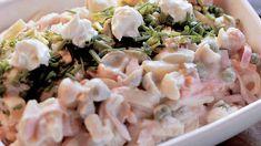 Food Tasting, Bon Appetit, Pasta Salad, Salad Recipes, Potato Salad, Seafood, Food And Drink, Cooking Recipes, Yummy Food