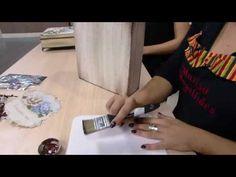 Mulher.com - 12/11/2016 - Arte em madeira - Marisa Magalhães PT1