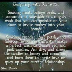 Elemental Magick | Water Magick - Spellwork, Rain Water