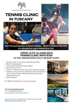 Tennis Clinic in Tus
