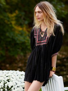 Free People FP ONE Near Perfect Tunic, $128.00  trim placement at top short, long, long, short