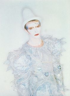 Scary Monsters photo session by Brian Duffy  photo source: David Bowie Calendar 1982
