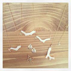 白珊瑚ネックレス✨ price¥3500 handmade jewelry コーラル
