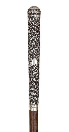 Silver Dress Cane , 1880