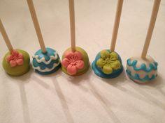 Tropical cake pops