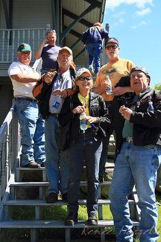 IMG#4843 July 24, 2011 At the steps of the Marshfield Station... Mt Washington, New Hampshire