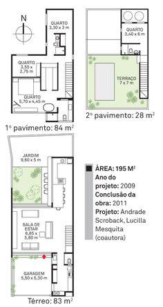 Sobrados econômicos construídos por (e para) dois arquitetos, na Vila Madalena, São Paulo.