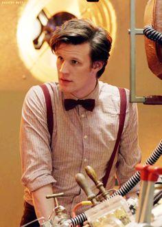 Matt Smith (The Eleventh Doctor) - Geek Stuff Undécimo Doctor, Doctor Who Clara, Doctor Who Rose, Matt Smith Doctor Who, Doctor Who Funny, Doctor Who Fan Art, Doctor Humor, David Tennant Doctor Who, Doctor Who Tardis