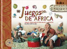 Libro para aprende a hacer diez juegos de estrategia y azar, seleccionados entre los más divertidos y antiguos de los que aún se juegan en África.
