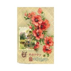 Free Clip Art from Vintage Holiday Crafts ❤ liked on Polyvore featuring flowers, backgrounds, vintage, art and flower backgrounds