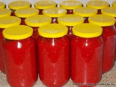 Preserves, Beverages, Food And Drink, Jar, Canning, Tableware, Tomatoes, Recipes, Gardening