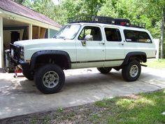 ... Chevrolet Suburban, Chevrolet Trucks, Gm Trucks, Lifted Trucks, Jdm, Muscle Cars, Wife And Kids, Square Body, K5 Blazer