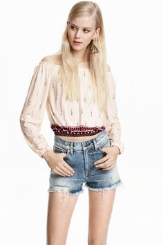 Bohemian crop top | H&M