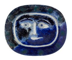 picasso blue plate