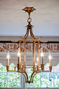Cheap to chic bamboo chandeliers chandeliers chinoiserie and lights chinoiserie chic chinoiserie chic house tour the dining room aloadofball Choice Image
