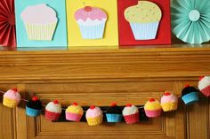 Throw a retro-style cupcake decorating party! The perfect theme for ages 4 and up!