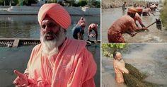 Este hombre limpió un río entero con sus propias manos -- Conoce la historia del hombre que logró salvar un río simplemente con trabajo voluntario y ganas de cambiar el mundo.