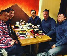 #Kuraya ha recibido la visita de Roger de @comerjapones junto a bodegueros  de sake de la región de Gifu. Nos os perdáis los eventos y conferencias de los próximos días en Madrid de Roger