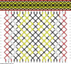 22 strings 16 rows 4 colors