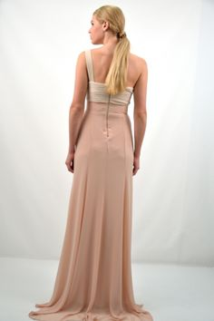 Φόρεμα μακρύ, γοργονέ γραμμή με ένα ώμο
