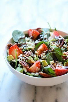 Strawberry Quinoa Salad - Damn Delicious