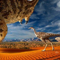 Este dinosaurio de un solo dedo (si puedes llamar a eso un dedo). | 12 extrañas criaturas prehistóricas que harán que te sientas feliz de estar vivo en la actualidad