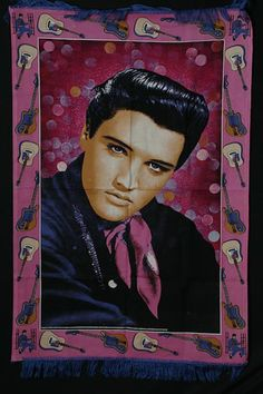 Elvis Presley, Textile Wall Hanger