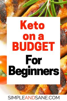 on a Budget Simple and Sane - % Learn how to start a Ketogenic diet - what to eat, what to track and how to lose weight on Keto!Learn how to start a Ketogenic diet - what to eat, what to track and how to lose weight on Keto! Keto Foods, Keto Food List, Keto Snacks, Healthy Foods, Paleo Food, Raw Food, Healthy Life, Healthy Living, Diet Dinner Recipes