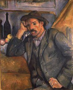 Paul Cézanne ~ The Smoker, c.1891 (Hermitage)