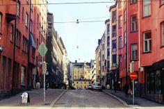...narrow streets...