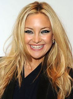 blonde long layered style | Kate Hudson Straight, Layered, Blonde Hairstyle