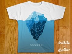 iceberg 620x465 20 Awesome T shirt Design Ideas 2014