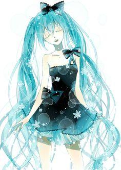Vocaloid Hatsune Miku anime girl
