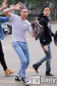 Namjoon and Yoongi
