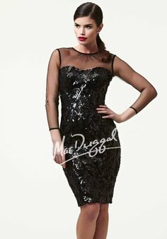 MacDuggal Homecoming Cocktail Dress 48146R at Peaches Boutique