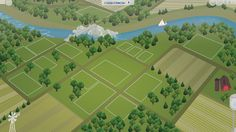 The sims 4 these fan made world maps are simazing simsvip the sims 4 fanmade map riverblossom hills by filipesims gumiabroncs Image collections